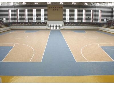 运动型PVC塑胶地板
