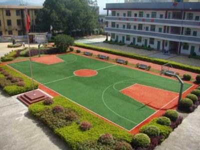 人造篮球场