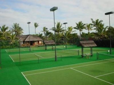 人造网球场