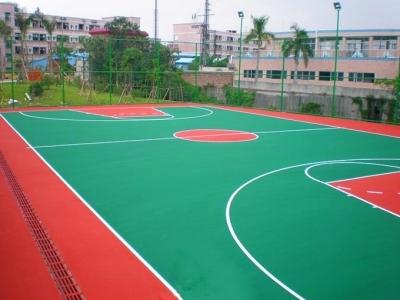 淄博塑胶篮球场