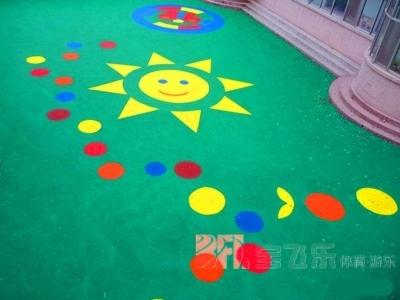淄博幼儿园塑胶场地
