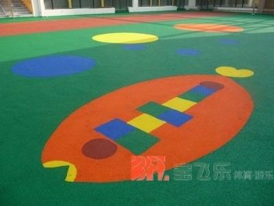 幼儿园塑胶场地