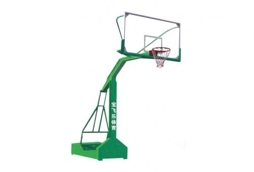BFL-5003 凹箱式配钢化玻璃篮板篮球架