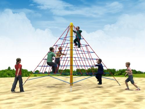 儿童游乐攀爬网